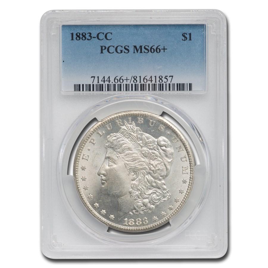 1883-CC Morgan Dollar MS-66+ PCGS