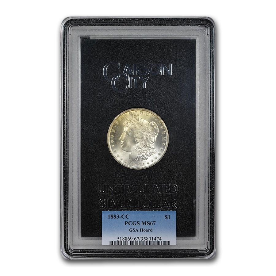 1883-CC Morgan Dollar MS-67 PCGS (GSA)