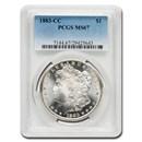 1883-CC Morgan Dollar MS-67 PCGS