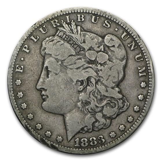 1883-CC Morgan Dollar VG