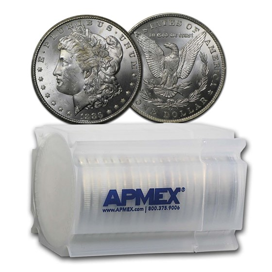 1883-CC Morgan Dollars BU (20 Count Roll)