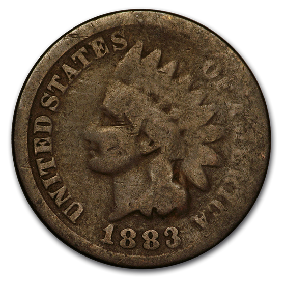 1883 Indian Head Cent AG