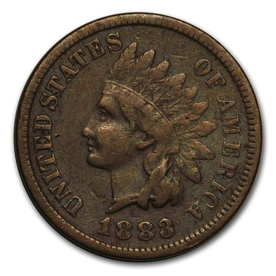 1883 Indian Head Cent Fine