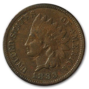 1883 Indian Head Cent VF