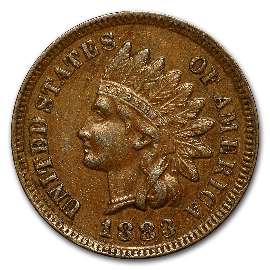 1883 Indian Head Cent XF