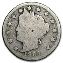 1883 Liberty Head V Nickel w/Cents Good