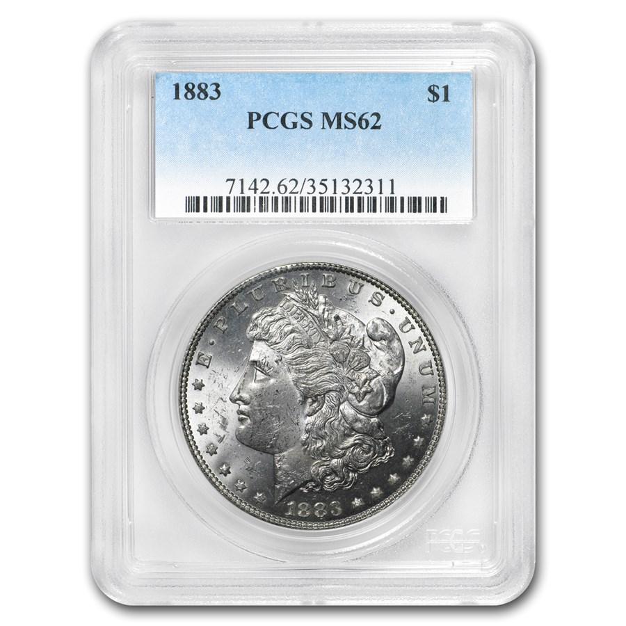 1883 Morgan Dollar MS-62 PCGS