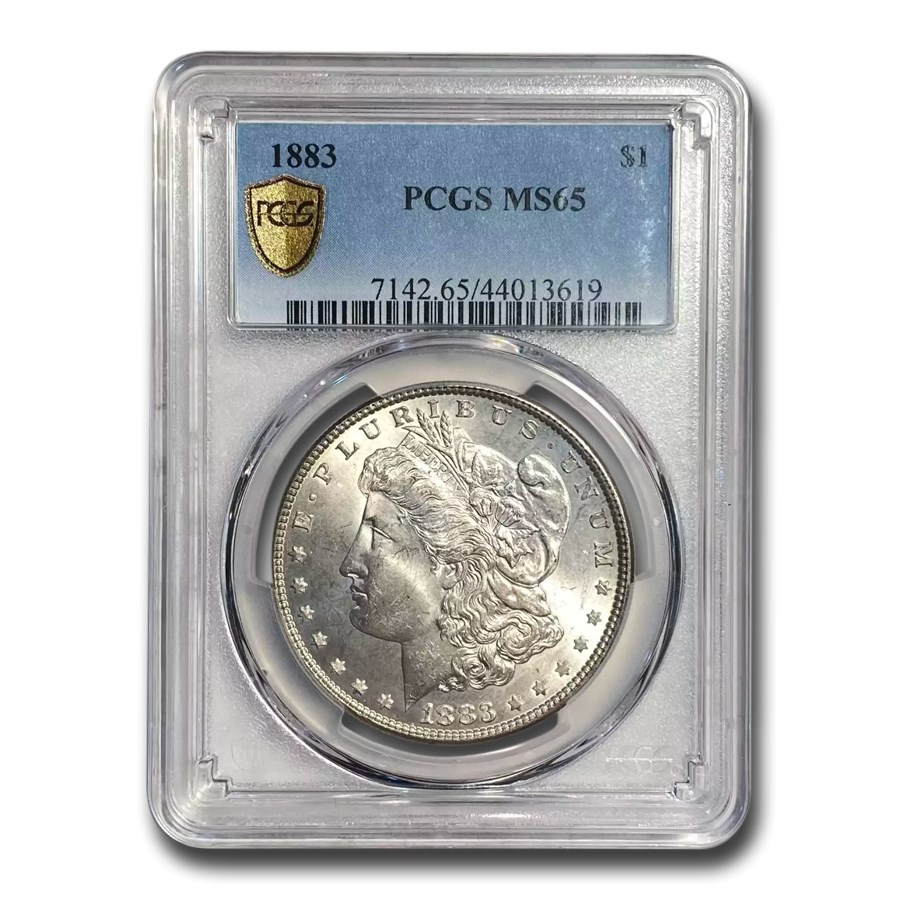 1883 Morgan Dollar MS-65 PCGS