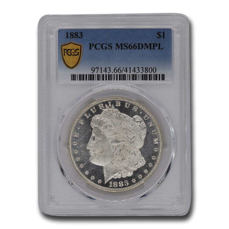 1883 Morgan Dollar MS-66 DMPL PCGS