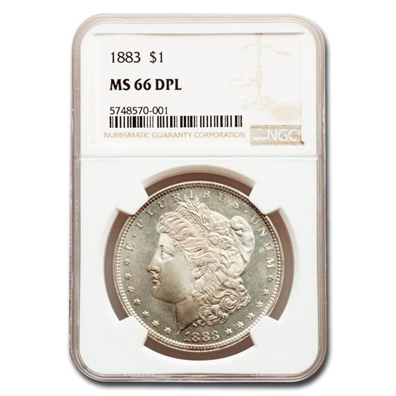 1883 Morgan Dollar MS-66 DPL NGC