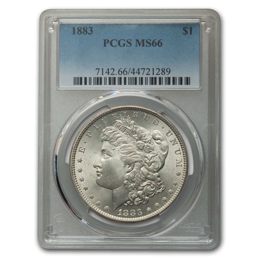 1883 Morgan Dollar MS-66 PCGS