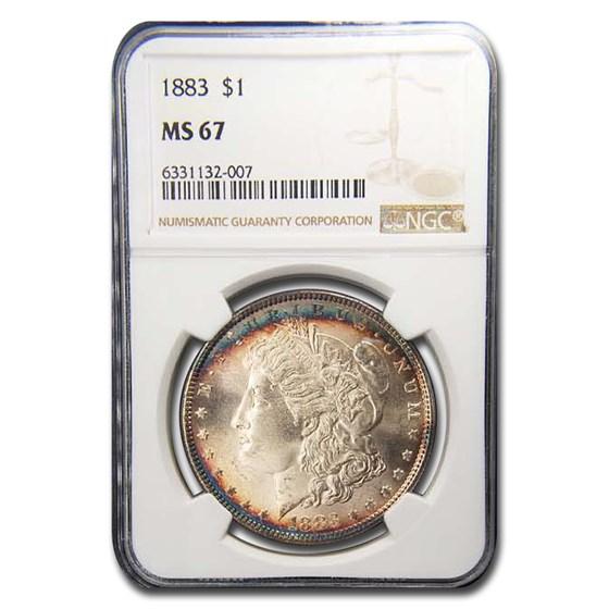 1883 Morgan Dollar MS-67 NGC