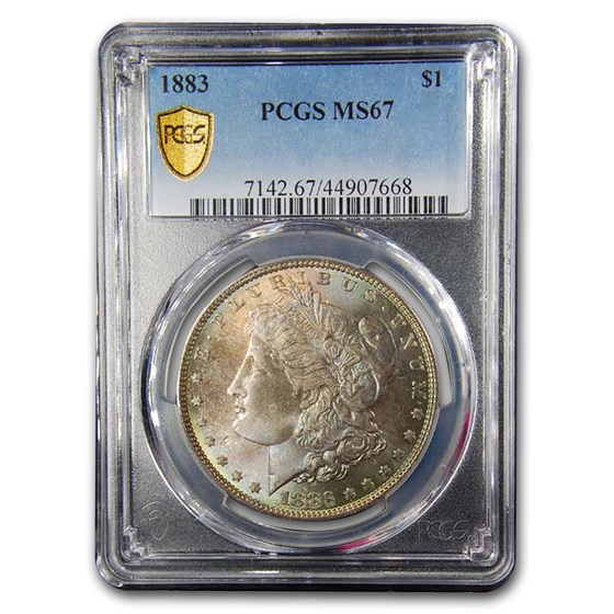1883 Morgan Dollar MS-67 PCGS