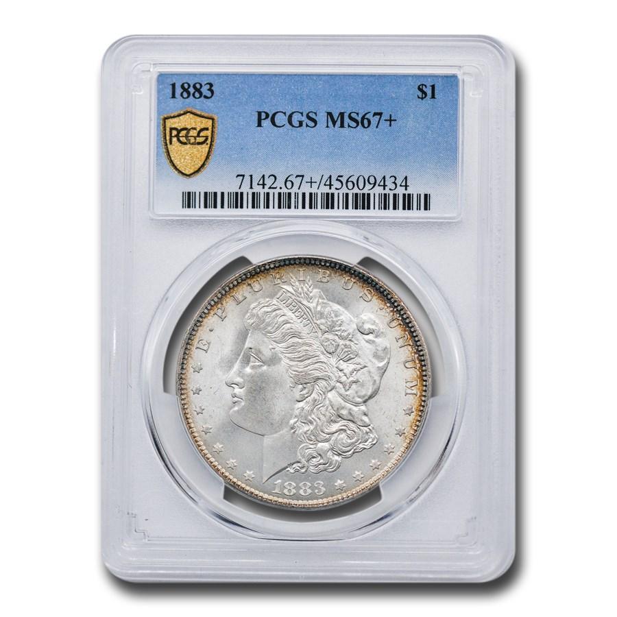 1883 Morgan Dollar MS-67+ PCGS