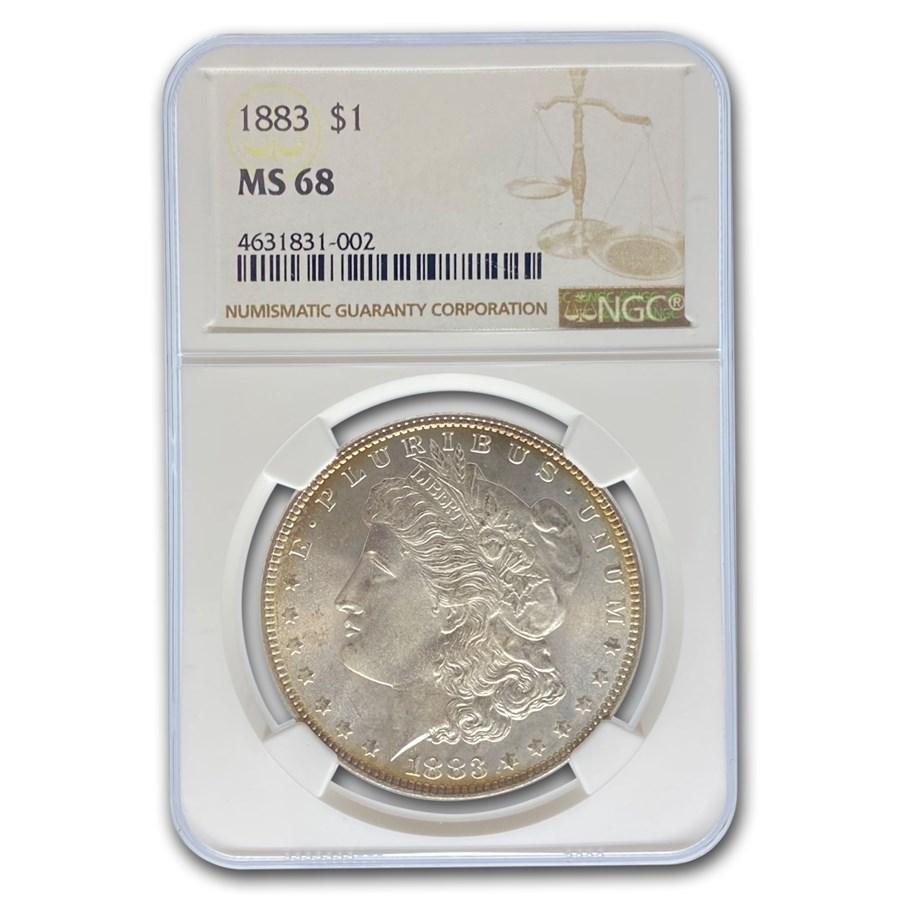 1883 Morgan Dollar MS-68 NGC