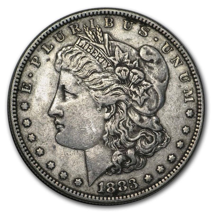 1883 Morgan Dollar XF