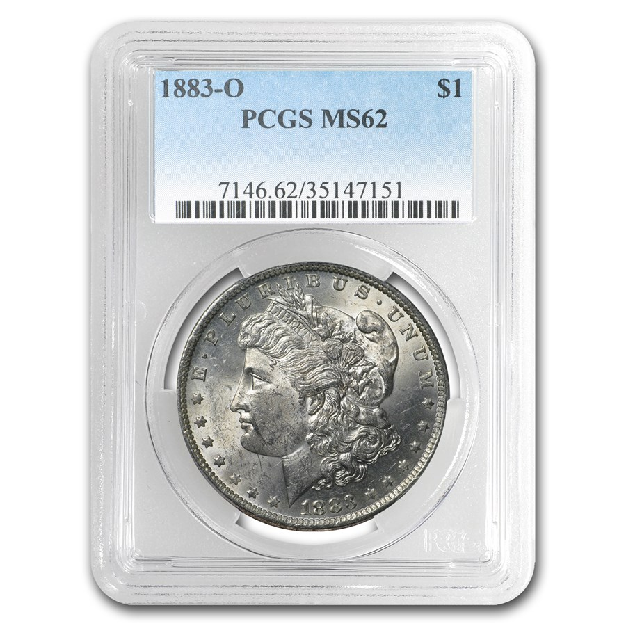 1883-O Morgan Dollar MS-62 PCGS