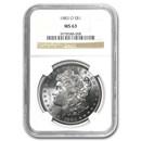 1883-O Morgan Dollar MS-63 NGC