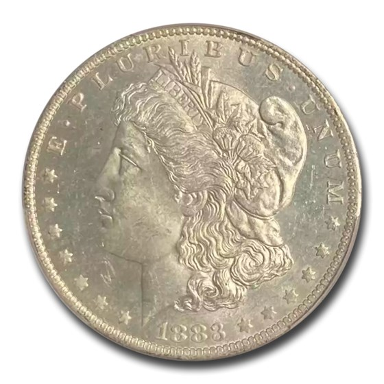 1883-O Morgan Dollar MS-63 PL PCGS