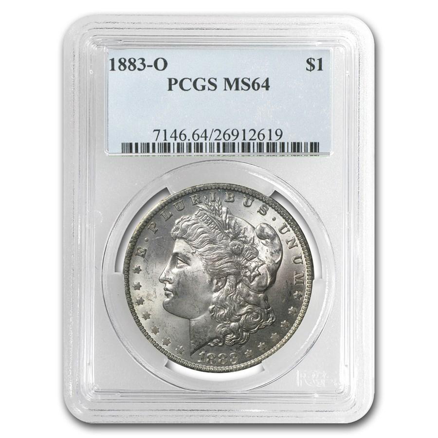1883-O Morgan Dollar MS-64 PCGS