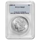 1883-O Morgan Dollar MS-65 PCGS