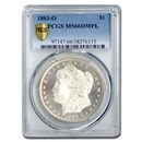 1883-O Morgan Dollar MS-66 DMPL PCGS