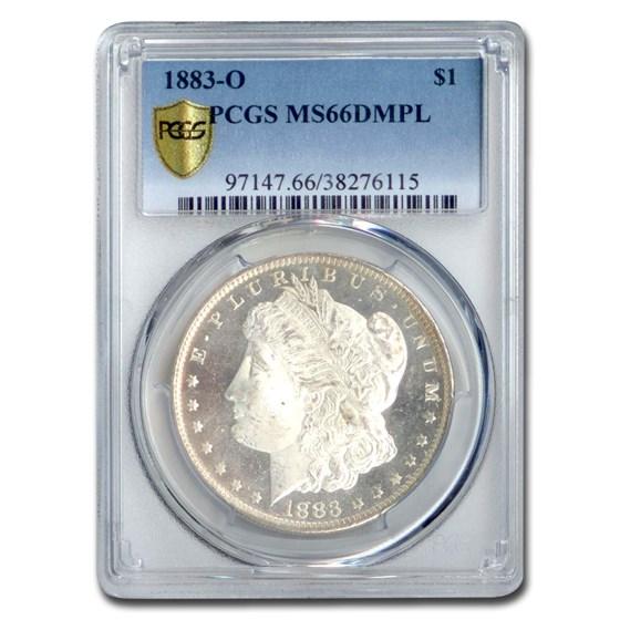 1883-O Morgan Dollar MS-66 DMPL PCGS