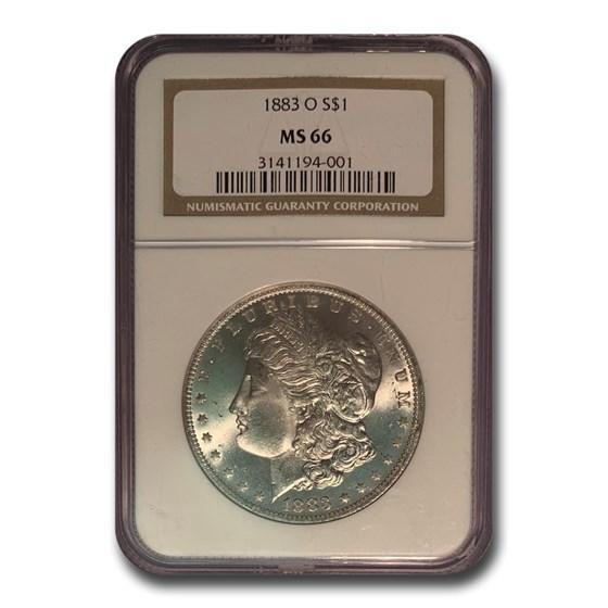 1883-O Morgan Dollar MS-66 NGC
