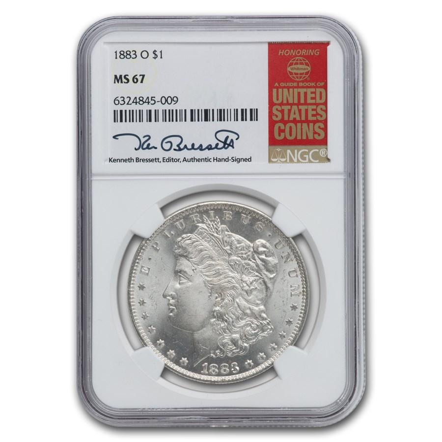 1883-O Morgan Dollar MS-67 NGC