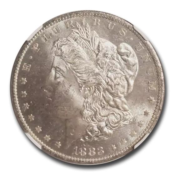 1883-O Morgan Dollar PL MS-64 NGC