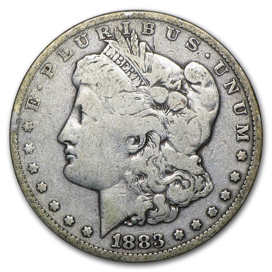 1883-O Morgan Dollar VG (45 Degree Rotated Rev)