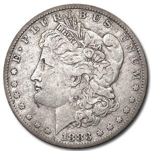 1883-O Morgan Dollar XF