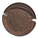 1883 Portugal AE 20 Reis King Luiz I MS-65BN NGC (Mint Error)