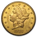 1883-S $20 Liberty Gold Double Eagle AU