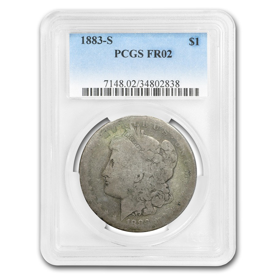 1883-S Morgan Dollar Fair-2 PCGS (Low Ball Registry)