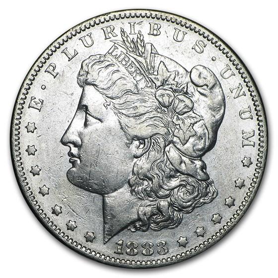 1883-S Morgan Dollar XF-45