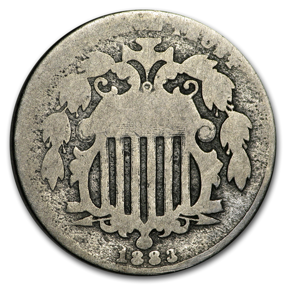 1883 Shield Nickel AG