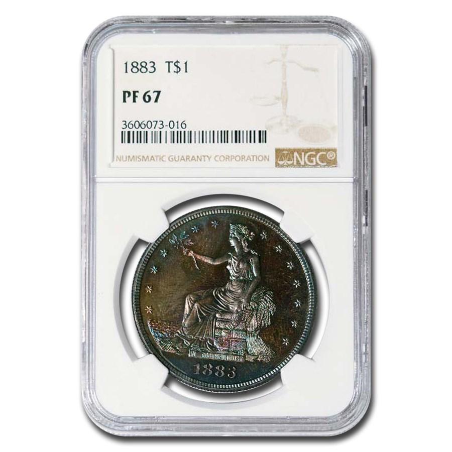 1883 Trade Dollar PF-67 NGC