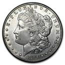 1884-CC Morgan Dollar AU