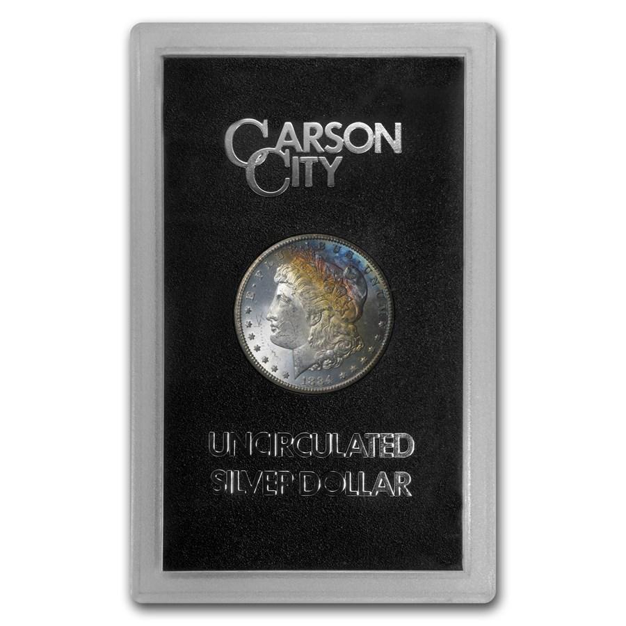 1884-CC Morgan Dollar BU (GSA, Toned)