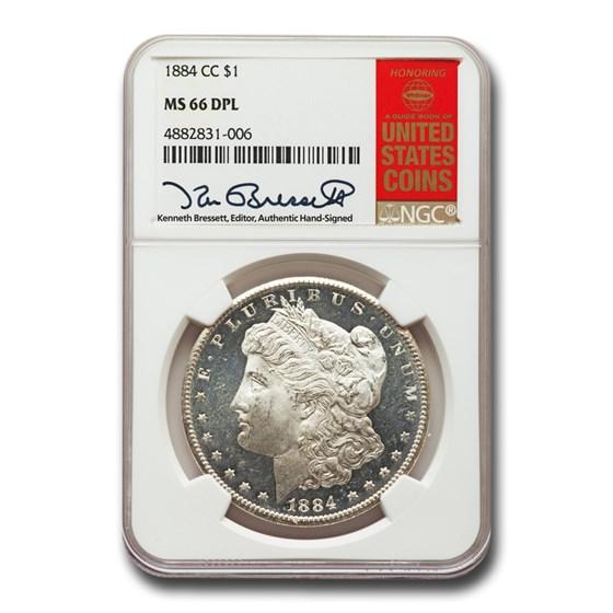1884-CC Morgan Dollar DPL MS-66 NGC
