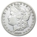 1884-CC Morgan Dollar Fine
