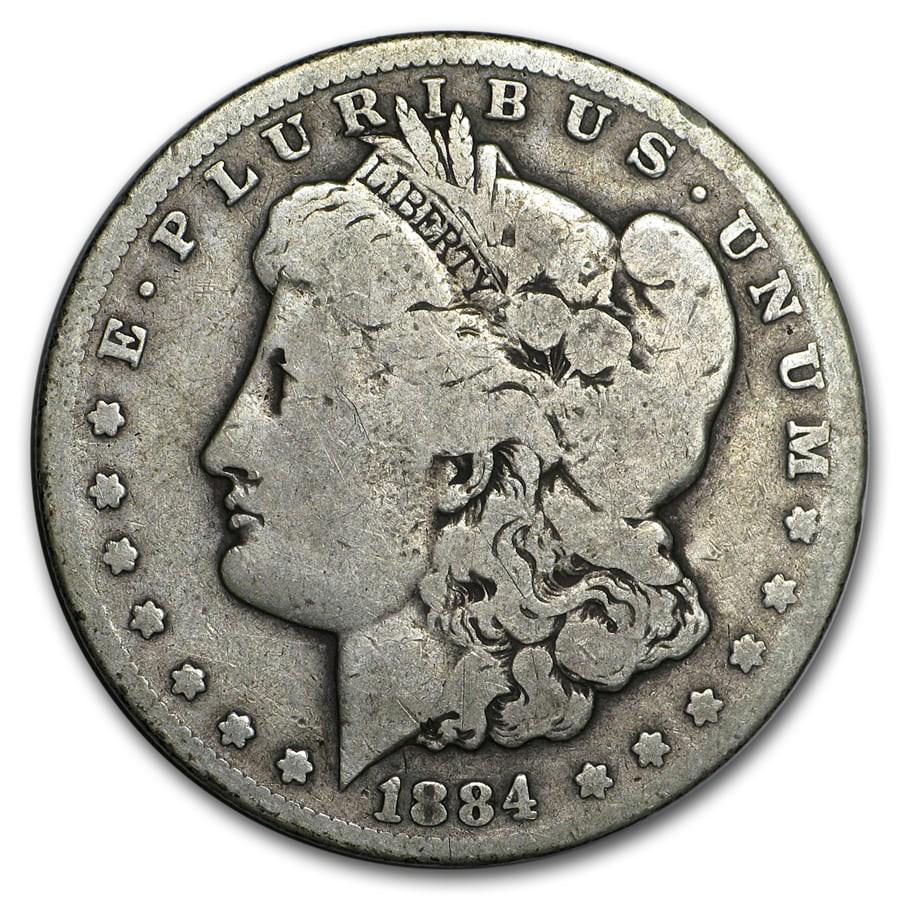 1884-CC Morgan Dollar Good