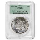 1884-CC Morgan Dollar MS-62 PL PCGS