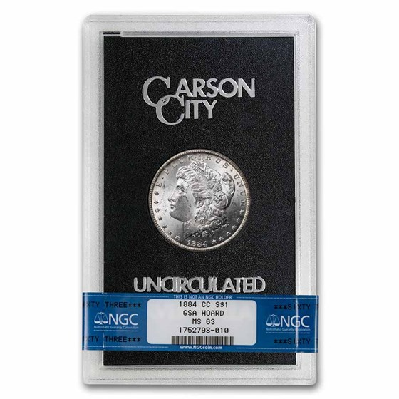 1884-CC Morgan Dollar MS-63 NGC (GSA)