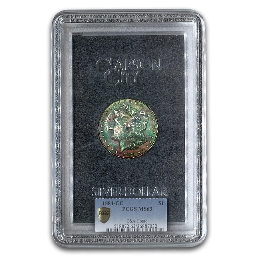 1884-CC Morgan Dollar MS-63 PCGS (GSA Hoard)