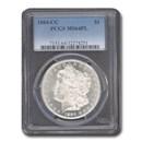 1884-CC Morgan Dollar MS-64 PL PCGS