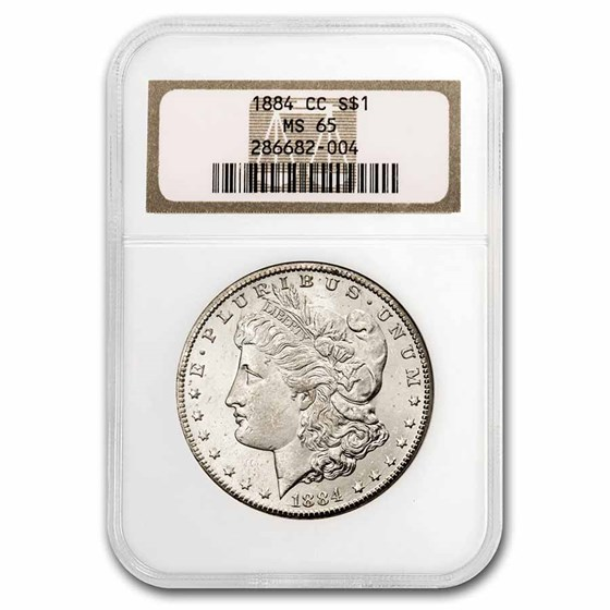1884-CC Morgan Dollar MS-65 NGC