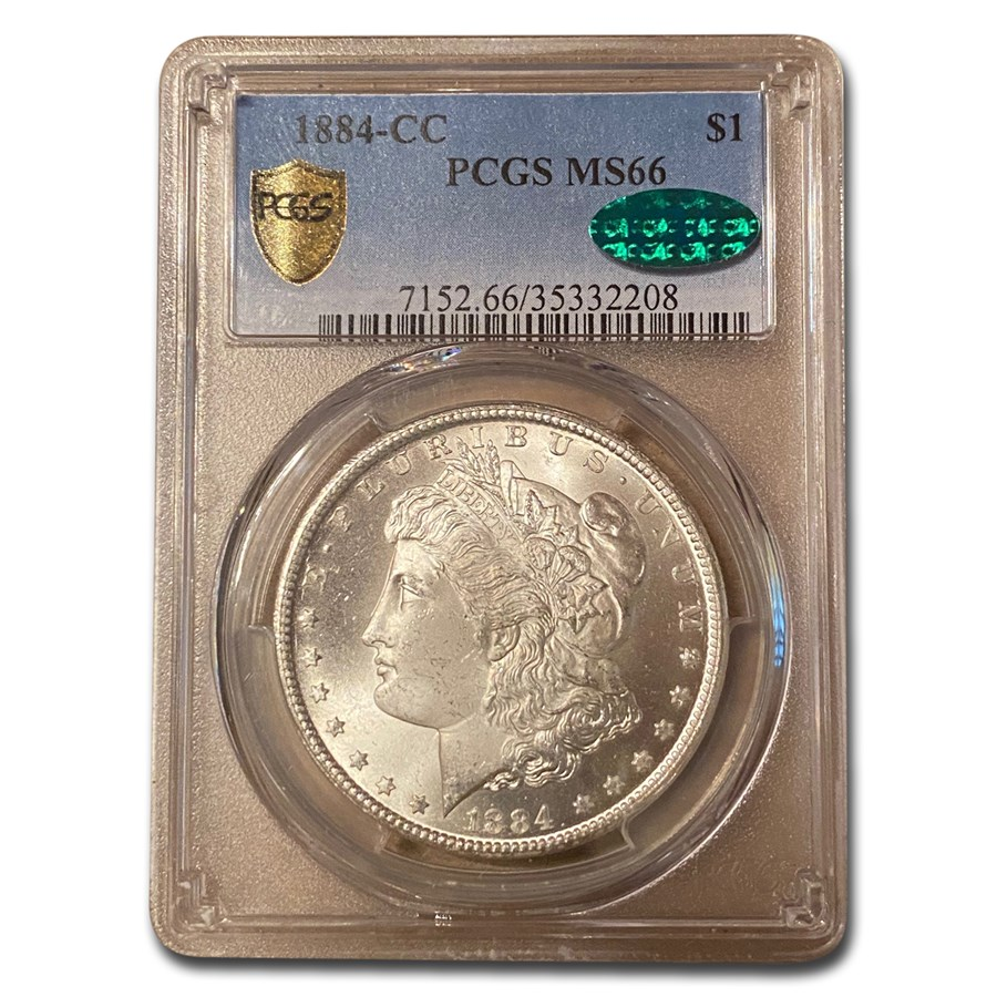 1884-CC Morgan Dollar MS-66 PCGS CAC