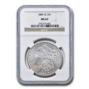 1884-CC Morgan Dollar MS-67 NGC